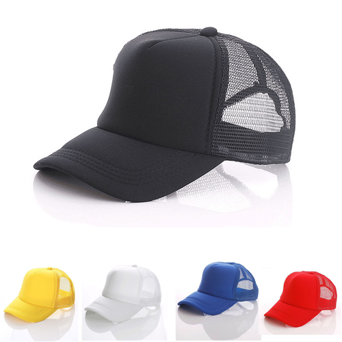 Summer trucker hat with mesh back (1)