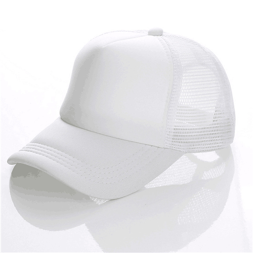 Summer trucker hat with mesh back (2)