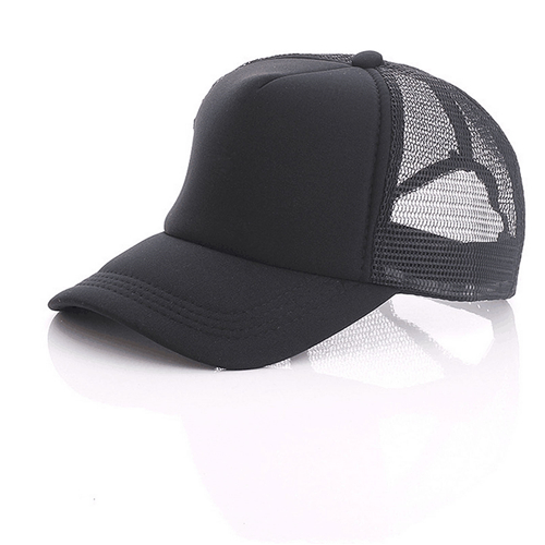 Summer trucker hat with mesh back (3)