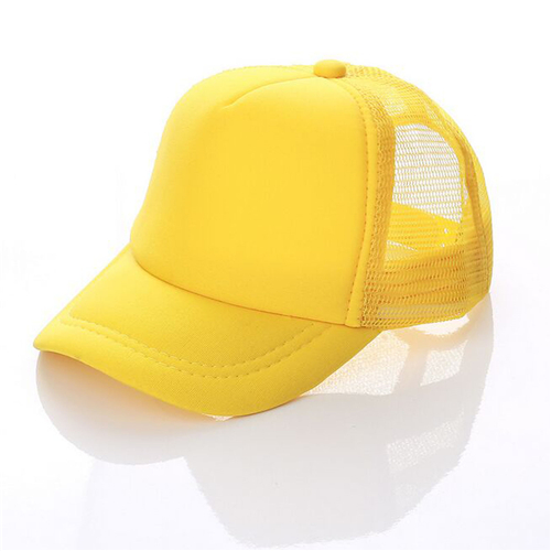 Summer trucker hat with mesh back (4)