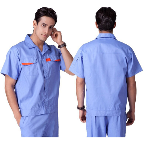 Mens Short Sleeve Labour Protective Uniform For Engineering Or Mechanic  Workers | Doven Garments